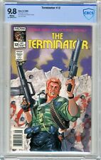 Terminator  #12   CBCS  9.8   NMMT   White pages   9/89   Mitch O'Connel cover