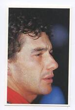Scarce Trade Card of Ayrton Senna, Formula 1 1991 Series 2