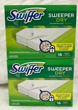 Swiffer Sweeper Dry Cloths 16 Count - 2 Pack Free Ship