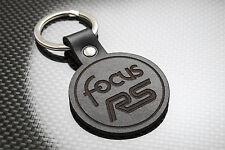 FOCUS RS Luxury Leather Keyring Schlüsselring Porte-clés Ford Motorsport FRS Mk1