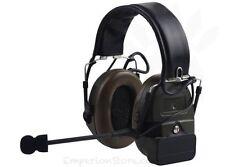 Z-TAC Comtac I Headset Airsoft Softair Military Communication Cuffia Radio