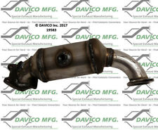 Catalytic Converter-Exact-Fit - Manifold Front Right Davico Exc CA 19583