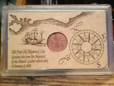 1808 East India Company 10 Cash Shipwreck Coin Madras Presidency