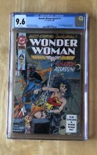 Wonder Woman Special #1 DC 1992 CGC 9.6 White Pgs Deathstroke Cover