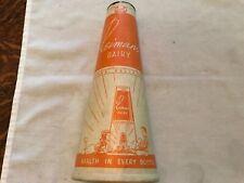 Reimer's Dairy Vintage Milk Wax Container, Planada, California