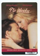 Movie Backer Card  ~~9 1/2 WEEKS~~   **NOT THE MOVIE**  ***Mini Poster***