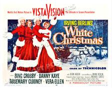 WHITE CHRISTMAS LOBBY CARD POSTER HS-A 1954 BING CROSBY DANNY KAYE CLOONEY ELLEN