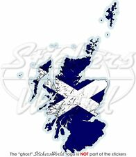 SCOTLAND Scottish Map-Flag UK Bumper Sticker-Decal