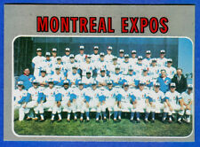 1970 Topps-Team Card MONTREAL EXPOS - card  #509 (ex+)