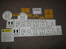IH  Farmall Super H Decal Set