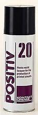 Spray POSITIV 20 per fotoincisione - Sviluppo positivo P-20 - 200ml