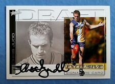 CHRIS JUDD AFL SELECT DRAFT PICK SIGNATURE CARD