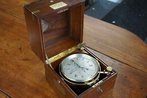 Antique Kelvin, Bottomley, & Baird 8 day Marine Chronometer