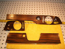 Mercedes W114 250C 280C coupe front dash ZEBRANO wood Genuine 1 set of 3 Covers
