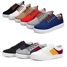 Модные мужские полуботинки воздухопроницаемая повседневная обувь классические кеды размер плюс