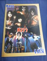 KISS Aucoin 1978 Japan tour book Rare Vintage Program UDO Rockupation Very Good
