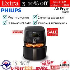 Philips (HD9742/93) - Premium Digital Air Fryer with Twin TurboStar Technology, 1500 W - Black
