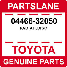 04466-32050 Toyota OEM Genuine PAD KIT,DISC
