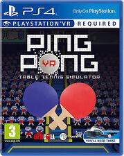 PS4 JUEGO PING PONG VR tenis de MESA nuevo&e.o. PLAYSTATION 4 Envío en Paquete