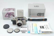 [Near MINT] Contax G1 + Carl zeiss planar T* 45mm f/2 Lens and more From Japan