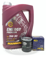 Oil Filter & Engine Oil For Citroen C1 1.0 2005 Onwards Service Kit Mannol SCT