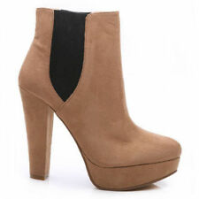 High (3 in. and Up) Block Wear to Work Synthetic Boots for Women