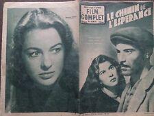 "FILM COMPLET 1953 N 365 "" LE CHEMIN DE L' ESPERANCE "" avec RAF VALLONE"