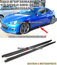 CS-Style Side Skirts (Urethane) Fits 12-17 BRZ FR-S FRS FT86 GT86 ZC6 ZN6