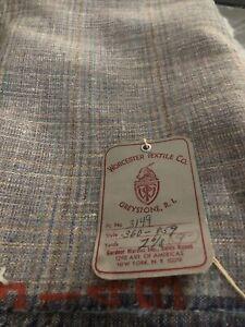 "Pendleton Wool Plaid Brown/gr 60"" Wide Wool Blends 2 Yards 9"" Worcester Textile"