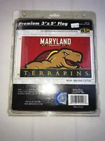 Maryland Terrapins 3' x 5' Flag (2015 National Champions) NCAA Licensed