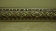 Imperial~Brown/Tan/White With Flowers ~ Wall Border ~1 Roll ~15' Prepasted