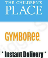 THE CHILDREN'S PLACE GYMBOREE 20% off Coupon Code Exp 9/30/2020 *Instant Delivry