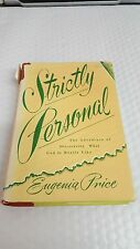 Strictly Personal: the Adventure of Discovering What God is Really Like1960 by e