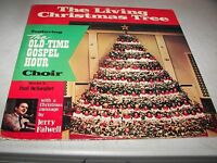 THE LIVING CHRISTMAS TREE OLD-TIME GOSPEL HOUR CHOIR JERRY FALWELL LP NM