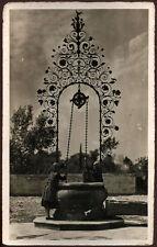 cartolina UDINE folclore friulano-al pozzo FOTOGRAFICA