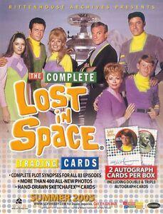THE COMPLETE LOST IN SPACE AUTOGRAPH CARDS    CHOOSE   RITTENHOUSE ARCHIVES