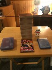 500 Yu-Gi-Oh cards, spell, trap, monster, ritual, fusion cards & case protectors