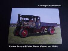 Picture Postcard Foden Steam Wagon. No.13488.AH9244.