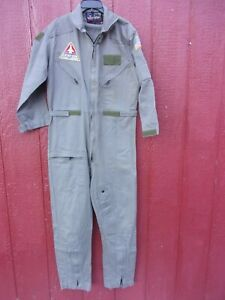 NASA US Space Camp Huntsville Flight Suit with Patches Adult Men Medium