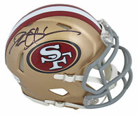 49ers Deion Sanders Authentic Signed Speed Mini Helmet Autographed BAS Witnessed