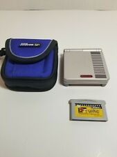 Nintendo Gameboy Advance SP GBA NES Edition w/ Carrying Case