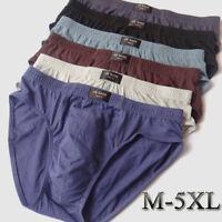 Men High Quality Cotton Bulge Brief Boxer Soft Comfortable Underwear Underpants
