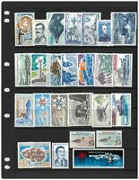 French Antarctic Territory 25 Different Stamps All Mint Unhinged MUH (2)