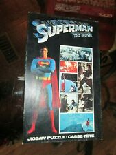 1978 Superman The Movie Jigsaw Puzzle DC Comics 200 Pc Vintage Complete Reeves