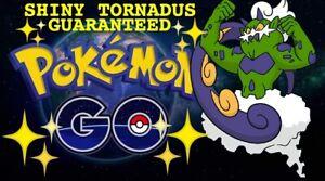Pokemon Go ✨Shiny Tornadus ✨Guaranteed Raid Capture 100% Guaranteed & Safe!