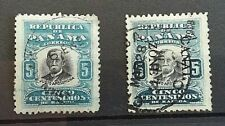 EARLY PANAMA /CANAL ZONE   STAMPS- 2 USED   HINGED