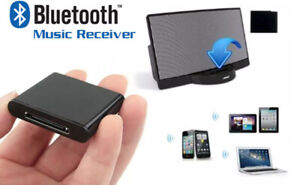 Bluetooth Music Receiver Adapter for BOSE Sound Dock 2,10 & Portable UK SELLER