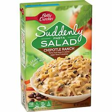 2 Boxes Betty Crocker Suddenly Salad Chipotle Ranch Pasta Salad 5.9 oz 06/2021