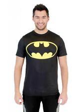 DC Comics Superhero Batman Logo Performance Adult Mens Athletic T-Shirt Tee NEW