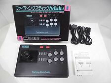 FIGHTING STICK MULTI -- New. Super famicom, Mega Drive, PC Engine. Japan. 14304